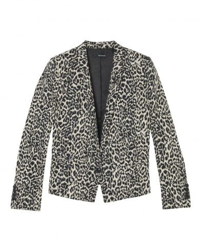The Kooples Leopard-print Jacquard Jacket - £295