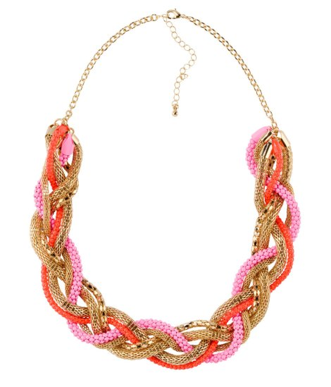 H&M Neon Necklace - £9.99